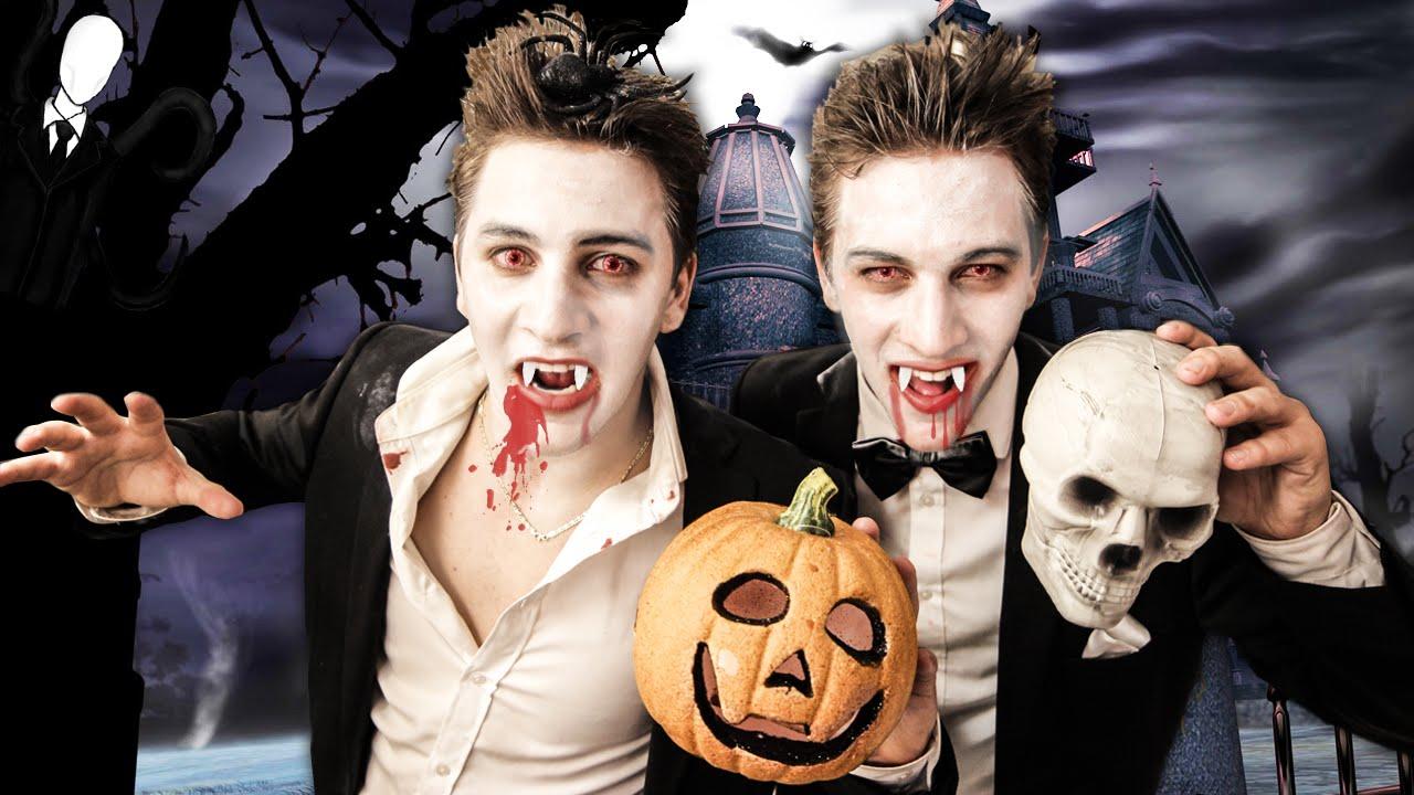 Halloween-themed slumber party